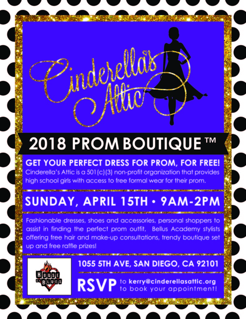 Prom Boutique The House Of Blues San Diego Sunday April 15th